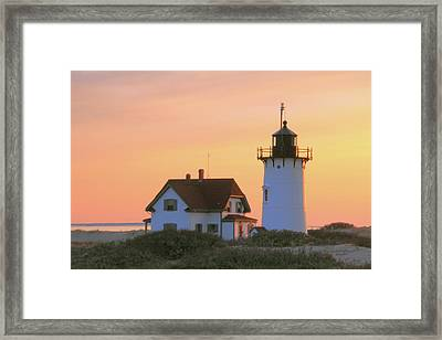 Race Point Light Framed Print