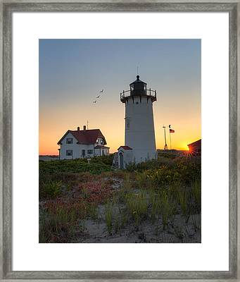 Race Point Lighthouse 2015 Framed Print