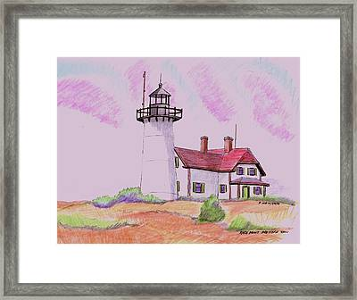 Race Point Provicetown Framed Print