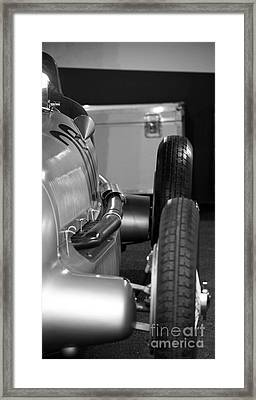 Race Prepared Framed Print