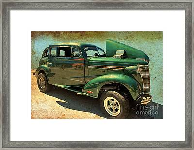 Framed Print featuring the photograph Race Ready by Bill Thomson