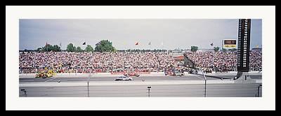 Racing Number Framed Prints