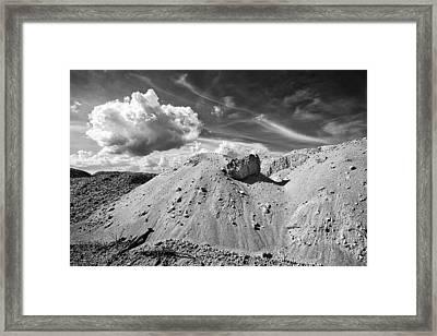 Racetrack Ridge Framed Print