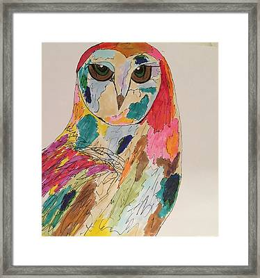 Rachael Framed Print by M Stuart