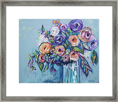Rachael's Wedding Framed Print by Kristin Whitney