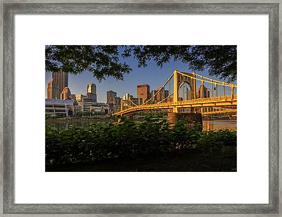 Rachel Carson Bridge Framed Print by Rick Berk