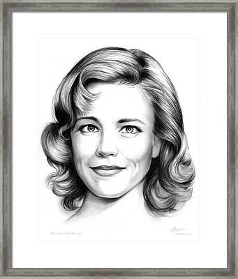 Rachel Mcadams Framed Print