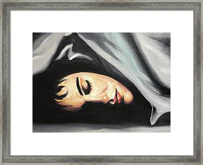 Rachel Framed Print by Seamas Culligan