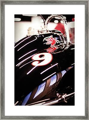 Racing 9 Framed Print by Scott Wyatt