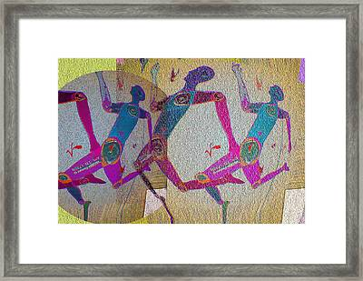 Racing Framed Print by Noredin Morgan