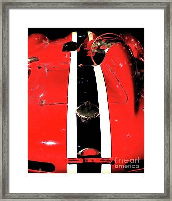 Racing Stripes Framed Print