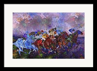 Jockey Silks Framed Prints
