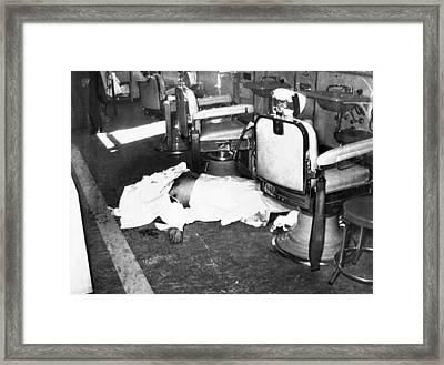 Racketeer Albert Anastasia, Former Lord Framed Print by Everett