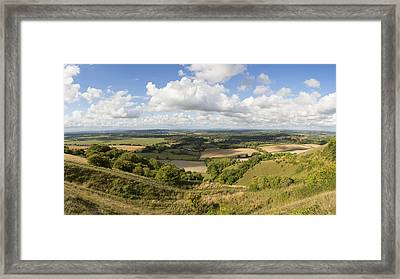 Rackham Hill To The North Downs Framed Print