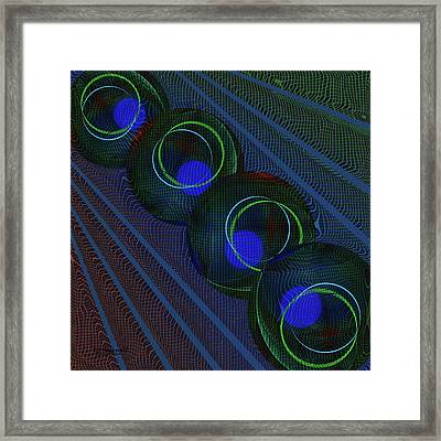 Racquetball Smash Framed Print by Diane Parnell