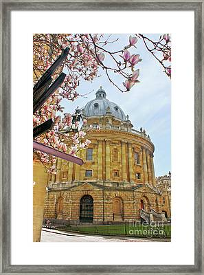 Radcliffe Camera Bodleian Library Oxford  Framed Print