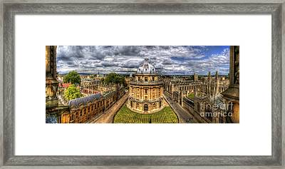 Radcliffe Camera Panorama Framed Print
