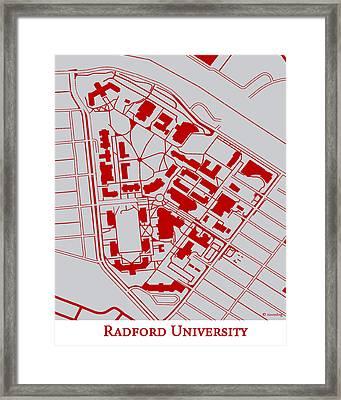 Radford University Campus Framed Print by Spencer Hall