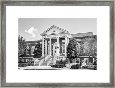 Radford University Mc Connell Library Framed Print