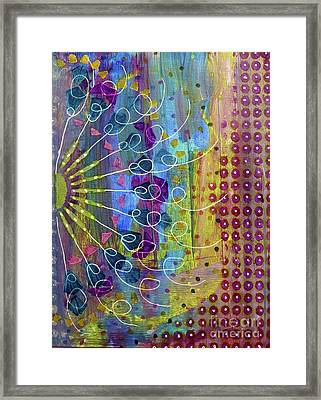 Radial Framed Print by Desiree Paquette