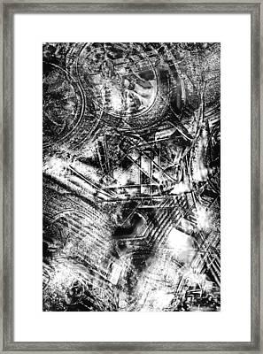 Radiance In Monochrome  Framed Print by Tom Gowanlock