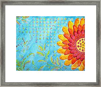 Radiance Of Christina Framed Print