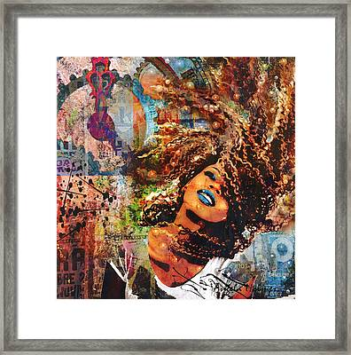 Radiant Framed Print by Angela Holmes