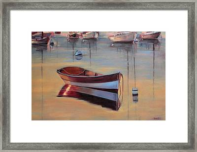 Radiant White Framed Print