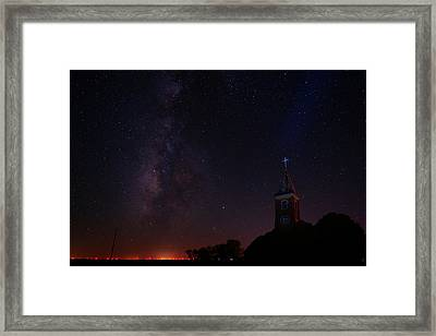 Framed Print featuring the photograph Radiant Light by Jonathan Davison