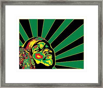 Radiant Soul  Framed Print by Jasmine Harris