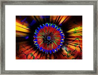 Radiate  Framed Print