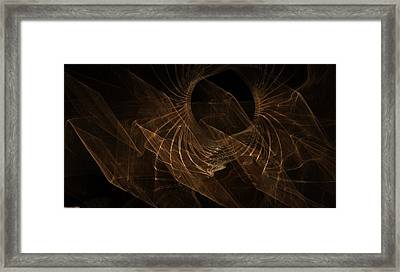 Radiation Breeze Framed Print by Shan Peck