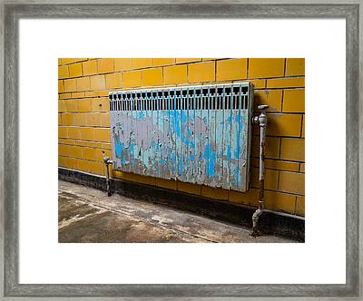 Vintage Radiator Framed Print by Denise McKay
