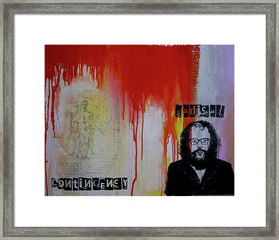Radical Contingency Framed Print by James Gallagher