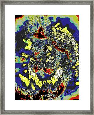 Radical Rodent Framed Print by DigiArt Diaries by Vicky B Fuller