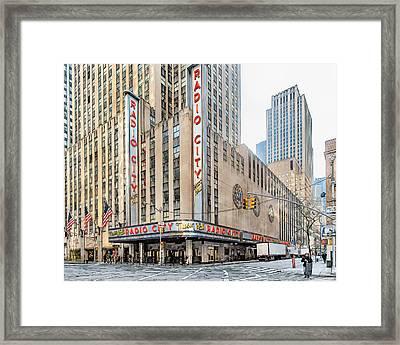 Radio City 1 Framed Print