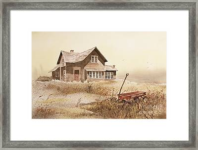 Radio Flyer Framed Print by Monte Toon