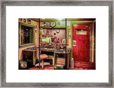 Radio Station Memphis Krmt Framed Print