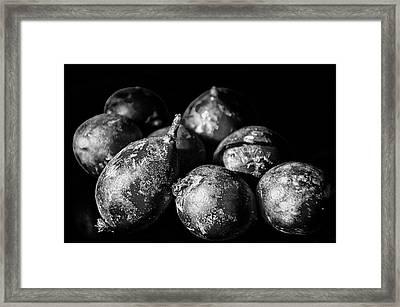 Radishes Framed Print