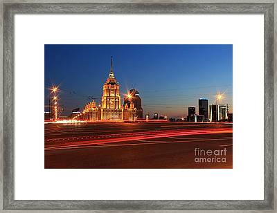 Radisson Framed Print