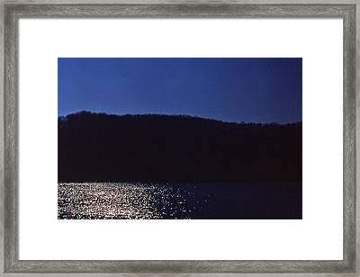 Radnor Lake Gets Dark Framed Print by Randy Muir