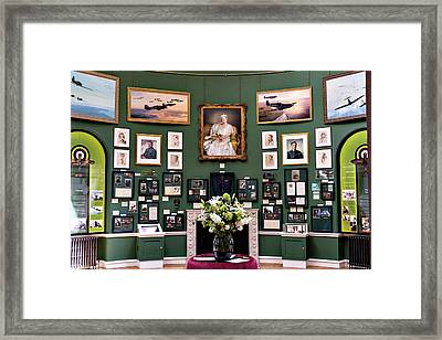 Framed Print featuring the photograph Raf Bentley Priory by Alan Toepfer