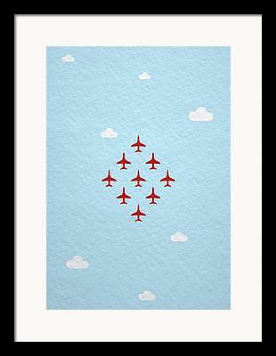 Aviation Display Framed Prints