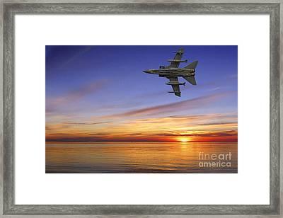 Raf Tornado Gr4 Framed Print by Nichola Denny