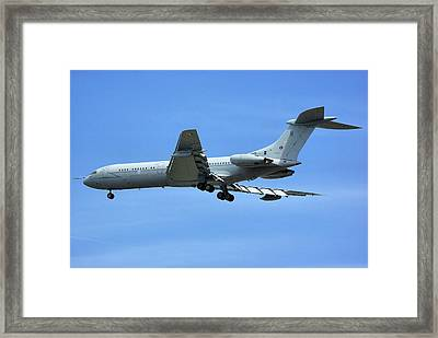 Raf Vickers Vc10 C1k Framed Print by Tim Beach
