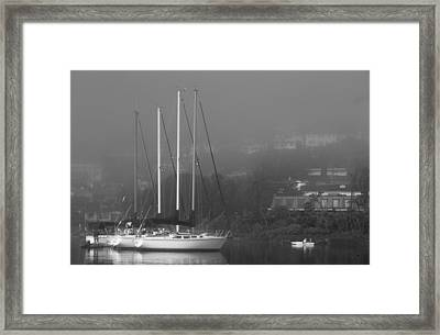 Raft Up Framed Print