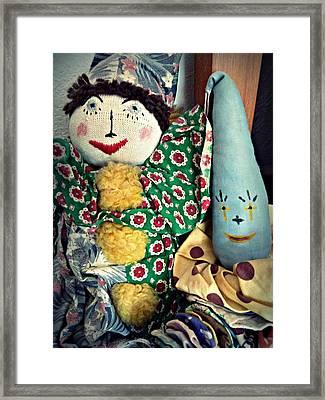 Ragdoll Buddies Framed Print by Patricia Strand