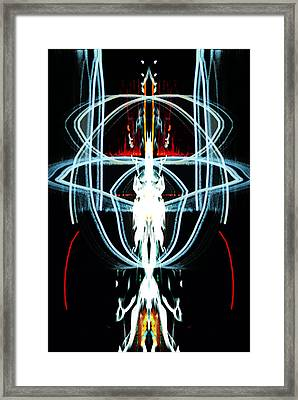 Rage Across Hell Framed Print by Patrick Guidato