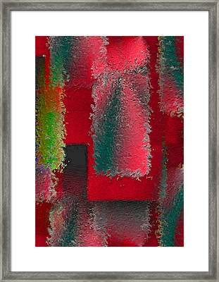Raggedy Red Framed Print by John Krakora