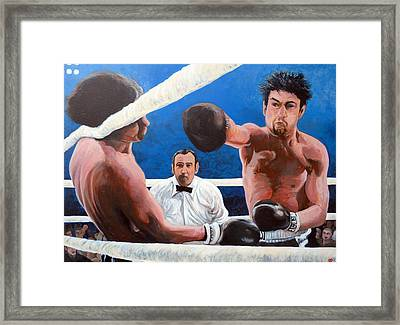 Raging Bull Framed Print